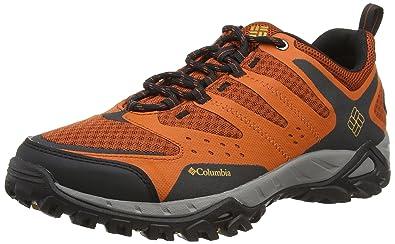 UK Shoes Store - Columbia Peakfreak Xcrsn Xcel Outdry Shoes Multisport Outdoor Man Orange (838)