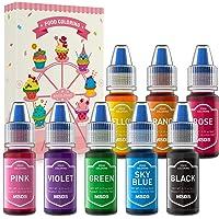 Colorante Alimentario Liquido Set, Wayin 6ML Colorante Alta Concentración Para Colorear Bebidas Reposteria Pasteles…