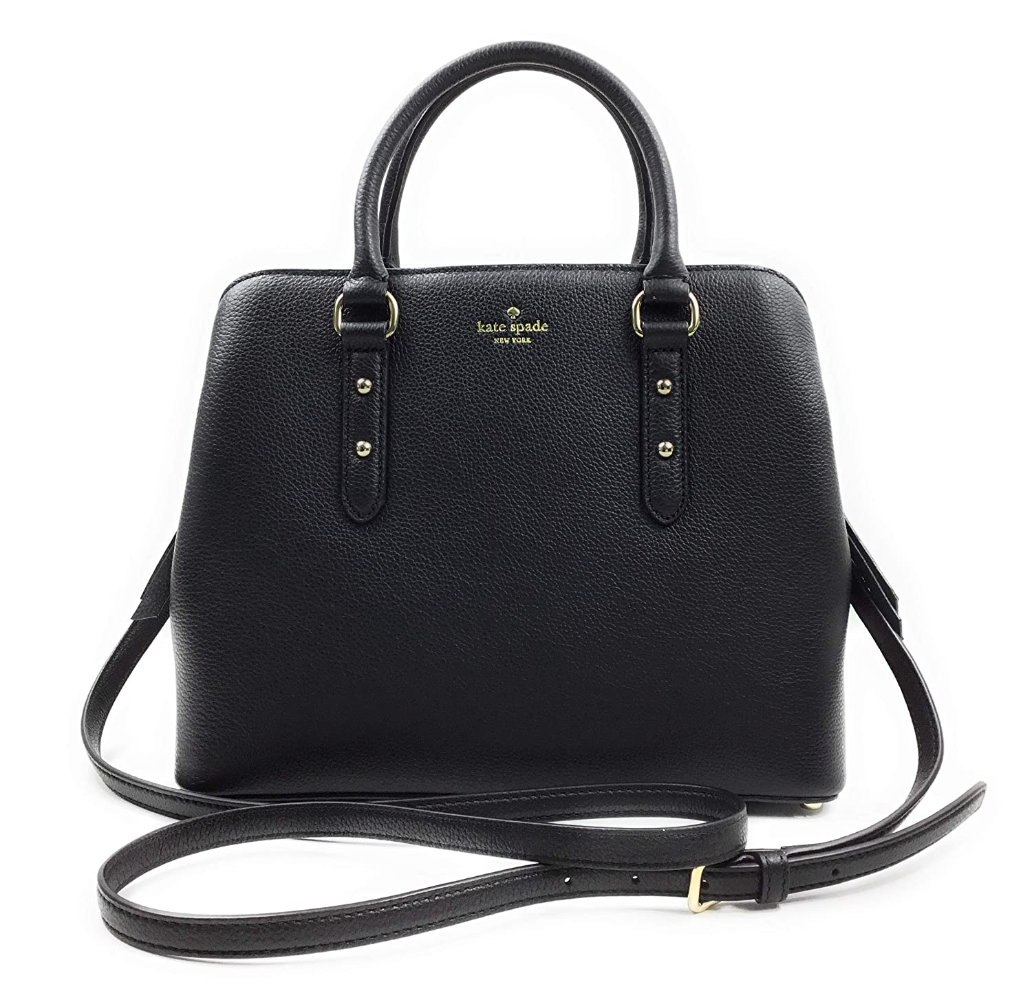 1610b8a141cc0 Amazon.com  Kate Spade New York Evangelie Larchmont Avenue Purse (Black)   Shoes
