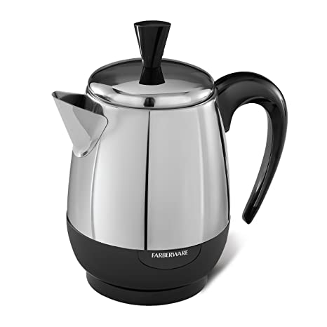 Amazon Farberware 2 4 Cup Percolator Stainless Steel Fcp240