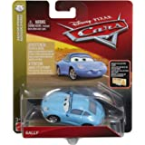 Disney Cars Die Cast Sally with New Expression & Accessory Card Toy Vehicle