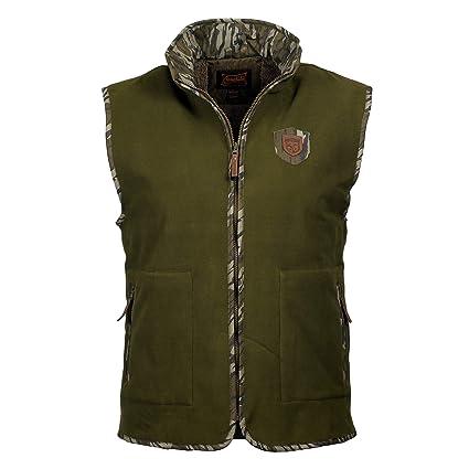 0bf78c25386c4 Amazon.com : Gamekeepers Mossy Oak Fleece Hitch Vest : Sports & Outdoors