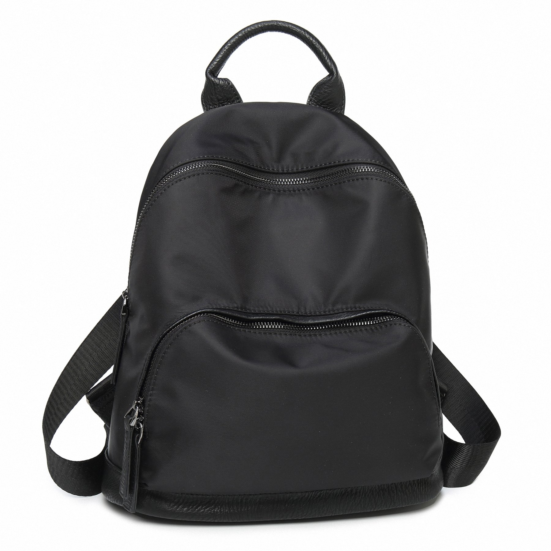 AOTIAN Women Backpacks Purse - Small Handy Bag Casual Daypack For Girls 13 Liters Black by AOTIAN (Image #2)