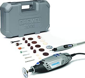 Dremel 3000-15 Multitool 130W 15 Accessories Stand Alone Collet Lock Out Soft