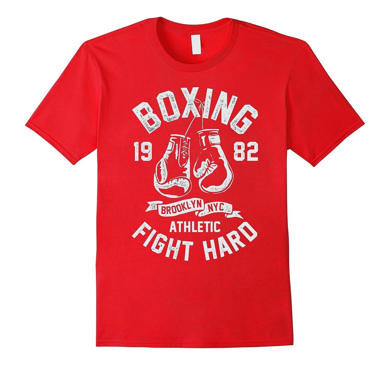 Brooklyn Boxing - Fighting Hard Since 1982 - T-Shirts-Art