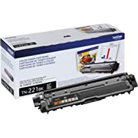 Brother Genuine Standard Yield Toner Cartridge, TN221BK, Replacement Black Toner, Page Yield Upto 2,500 Pages, Amazon…