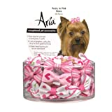 Pretty in Pink Dog Hair Bow (Pack 4) (PEDS)(DT0903)