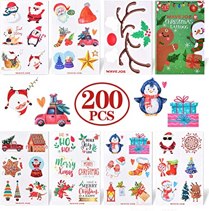 20 Elf on the Shelf STICKERS Party Favors Supplies Loot Bag Christmas stockings