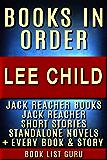 Lee Child Books in Order: Jack Reacher books, Jack Reacher short stories, Harold Middleton books, all short stories, anthologies, standalone novels & nonfiction. ... (Series Order Book 2) (English Edition)
