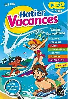 Cahier de vacances du CE2 vers le CM1 (Hatier Vacances)