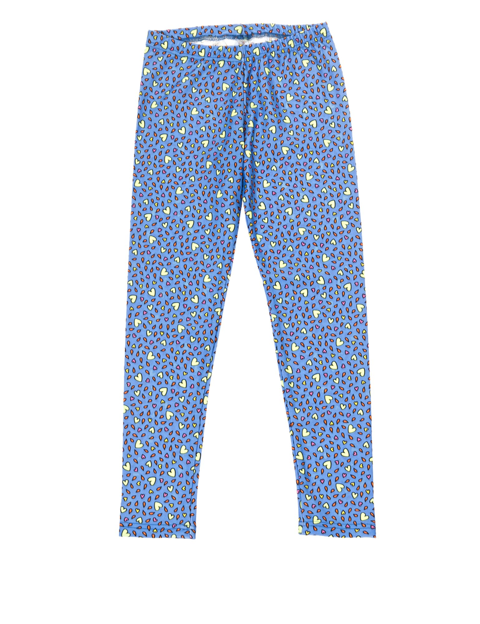 Pcp Genesis Kiddo Hearts Blue Leggings in Size 4-6 Blue