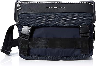 Tommy Hilfiger Herren Nylon Mix Messenger Business Tasche