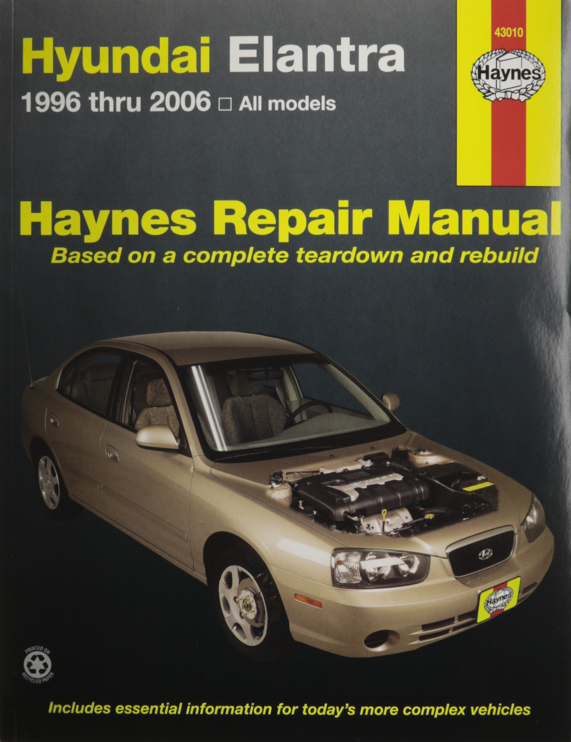 Hyundai Elantra, 1996-2006 (Haynes Repair Manual): Haynes: 9781563927218:  Amazon.com: Books