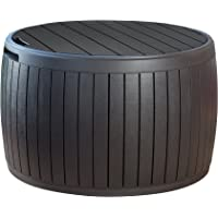 Keter Circa Wood 37-Gallon Storage Deck Box