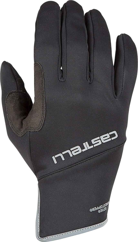 Black Brand New Castelli Scalda Winter Gloves Size Medium