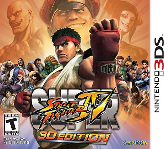 Capcom Super Street Fighter IV: 3D Edition, Nintendo 3DS, ESP Nintendo 3DS Español vídeo - Juego (Nintendo 3DS, ESP, Nintendo 3DS, Lucha, T (Teen)): Amazon.es: Videojuegos
