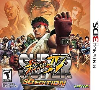 Amazon Com Super Street Fighter Iv 3d Edition Nintendo 3ds