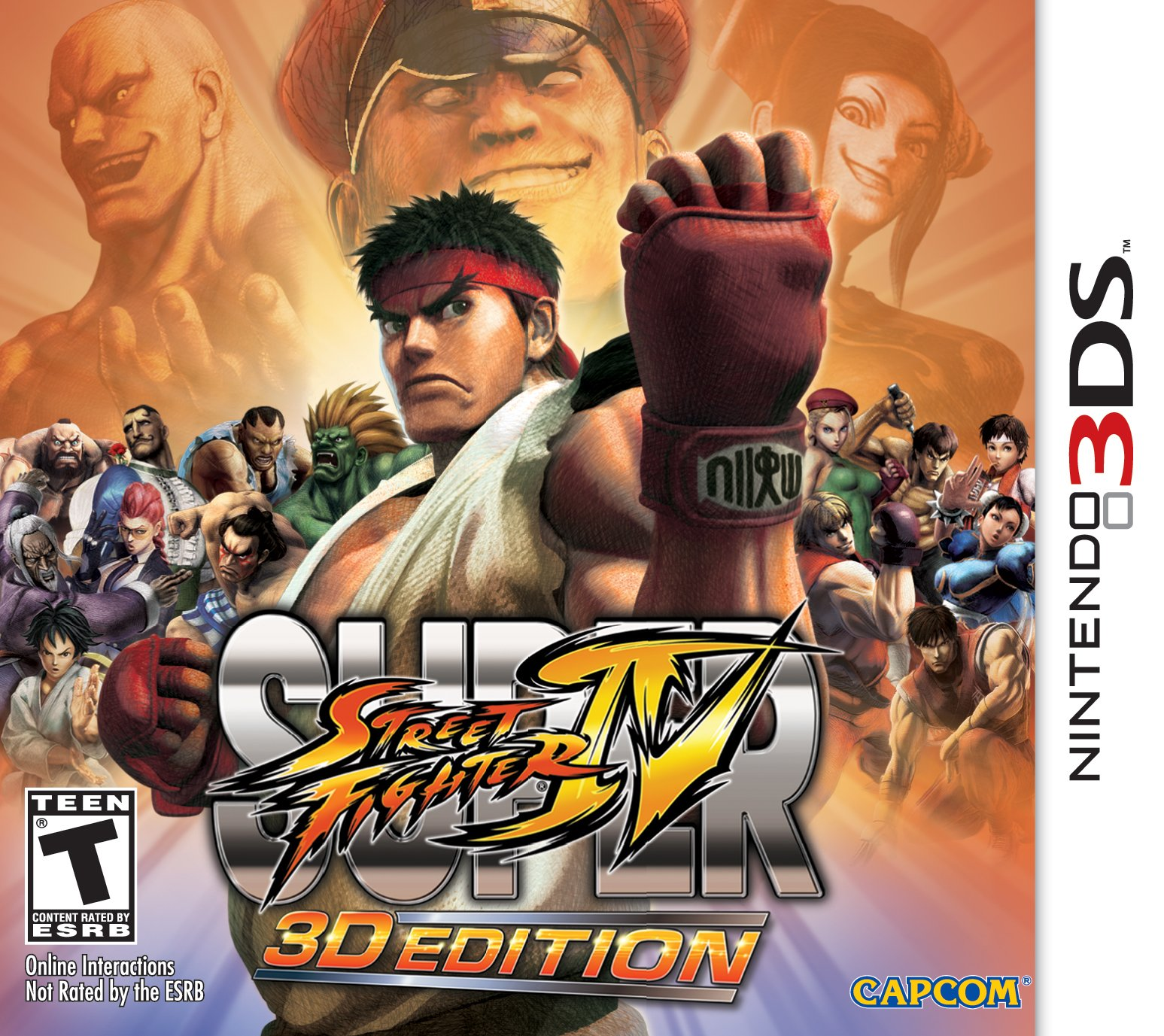 Super Street Fighter IV 3D Edition - 3DS [Digital Code]