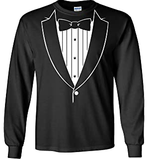 Tuxedo With Black Bow Tie Funny Toddler//Infant Kids T-Shirt Gift Idea