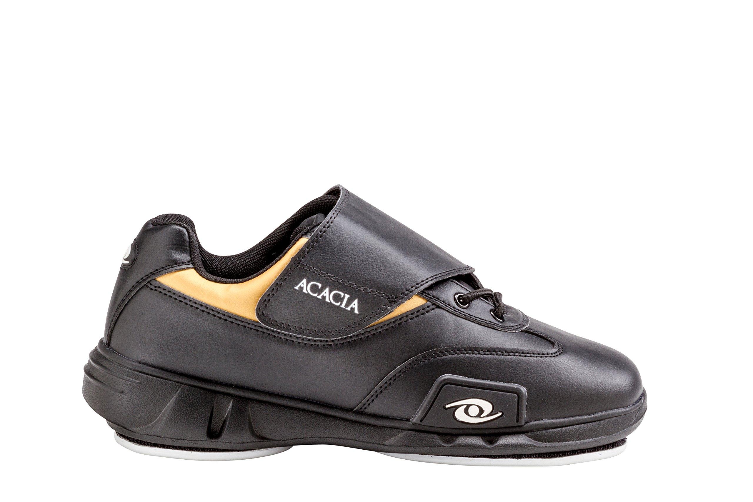ACACIA Matrix Curling Shoes 7, Black/Gold