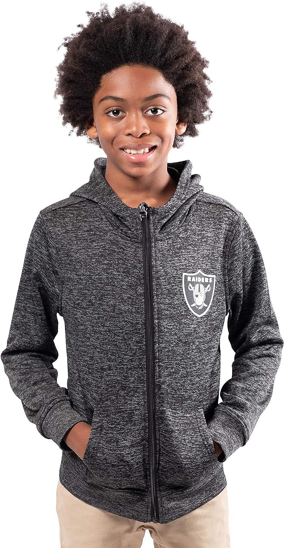 Ultra Game NFL Boys Extra Soft Fleece Pullover Hoodie Sweatshirt