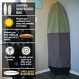 Ho Stevie! Canvas Surfboard Bag Cover [Choose