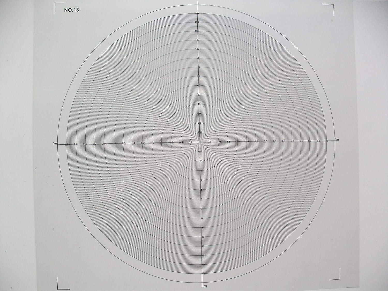 Cuadro comparador óptico para el cuadro de superposición del ...