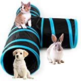 AikoPets Cat Tunnel Collapsible Pet Play Toy with Ball Tube Fun for Dog Rabbits Kittens cqt toys