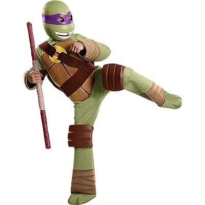 Teenage Mutant Ninja Turtles Deluxe Donatello Costume, Medium: Toys & Games