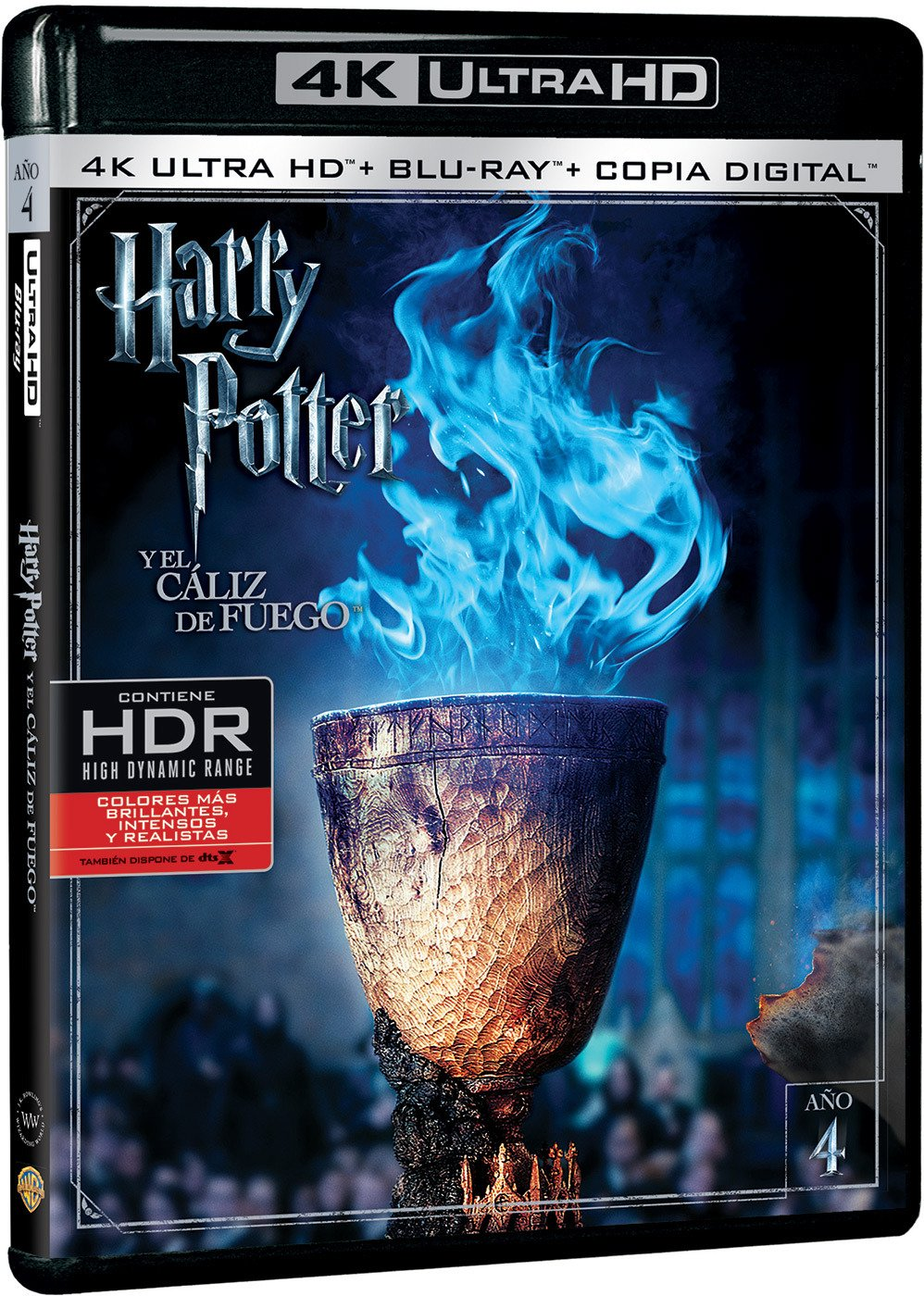 Harry Potter Y El Caliz De Fuego Blu-Ray Uhd Blu-ray: Amazon.es ...