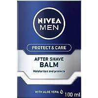 NIVEA MEN Protect & Care Shave Balm, Aloe Vera & Provitamin B5, 100ml