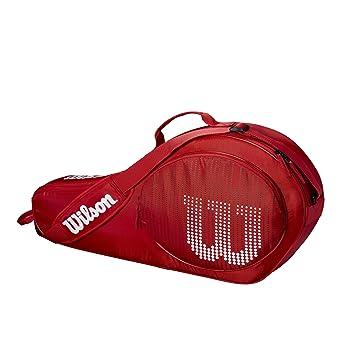 Wilson Bolsa para raquetas de tenis para niños, Hasta 3 raquetas ...