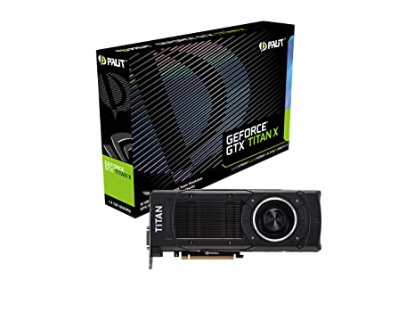 Amazon.com: Palit GTX TITAN X 12 GB 3 x DP/H/DVI, NE5 X ...