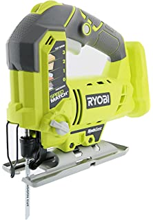 Ryobi one p523 18v lithium ion cordless orbital t shank 3 000 spm ryobi one p5231 18v lithium ion cordless orbital t shaped 3000 spm jigsaw battery keyboard keysfo Choice Image