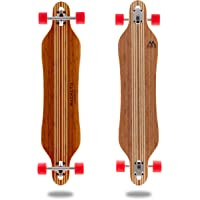 Hana Longboard Collection | 42 inch Longboard Skateboards | Bamboo with Hard Maple Core | Cruising, Carving, Dancing, Freestyle
