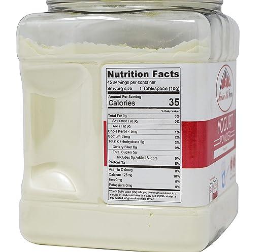 Hoosier Hill Farm Premium Yogurt Polvo, 1 lb: Amazon.com ...