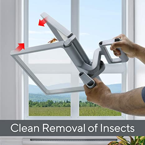 Mr Frog Flying Insect Scissoring Nets Easily Catch and Remove Flies Mosquitos and Bees