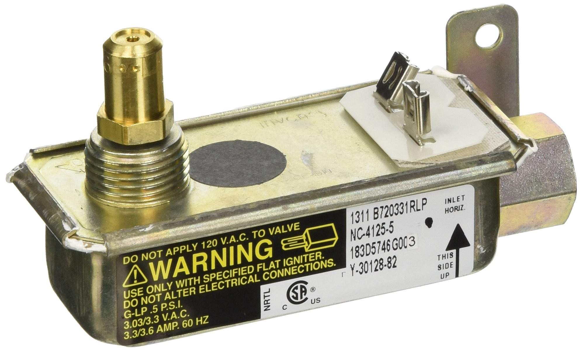 General Electric WB19K10006 Oven Safety Valve