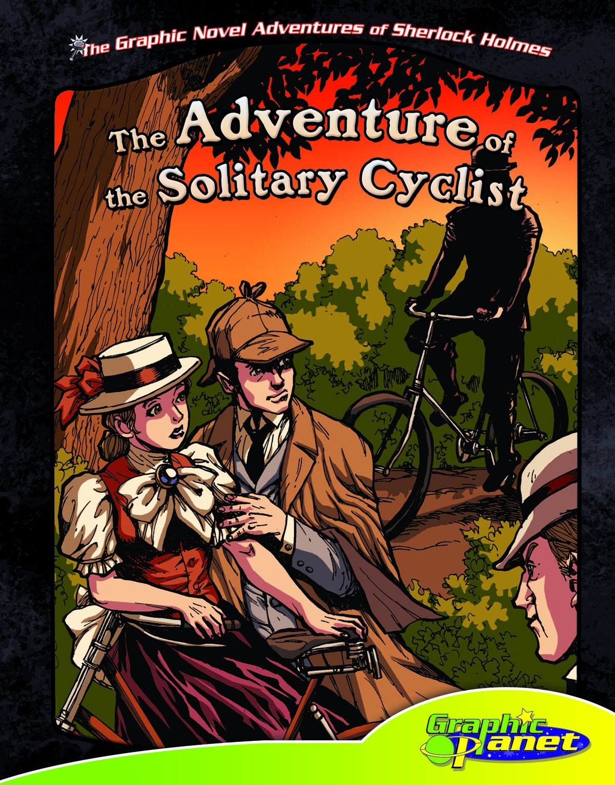 The Adventure of the Solitary Cyclist (The Graphic Novel