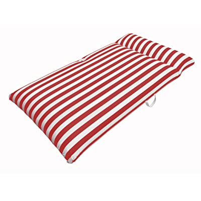 """Drift and Escape NT6010-RD Pool Mattress, Red, 66"""" L x 36"""" W x 10"""" H: Toys & Games"""