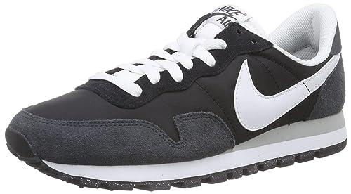 aa2345bde3426 Nike Herren Air Pegasus 83 Sneakers Schwarz (Black White-Anthrct-Flt Slvr