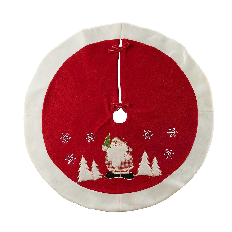 Amazon.com: Christmas Tree Skirt Mat for Christmas Holiday Party ...