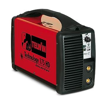 Soldadura ad Inverter Telwin Technology 175 HD 230 V ACX maletín Aluminio