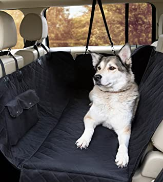 MimChe Dog Car Seat Cover Padded Luxury Large Hammock Style