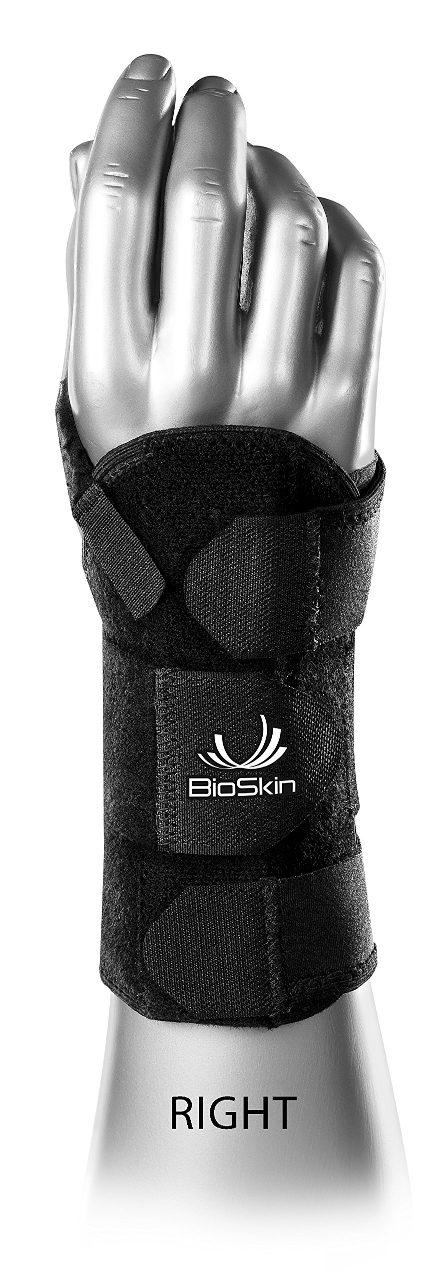 BioSkin DP2 Wrist Brace, Right, Medium/Large by BIOSKIN