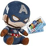 Funko Mopeez: Marvel - Captain America Action Figure