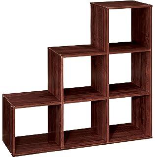 ClosetMaid 1045 Cubeicals Organizer, 3 2 1 Cube, Dark Cherry
