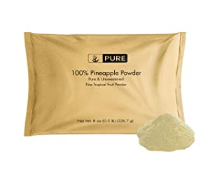 Pineapple Powder (8 oz) Rich in Antioxidants, Great for Smoothies & Cocktails