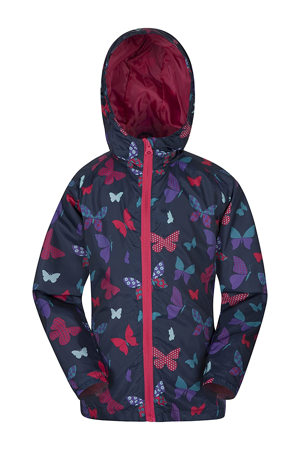 Mountain Warehouse Gizelle Kids Shell Jacket - Childrens Summer Coat