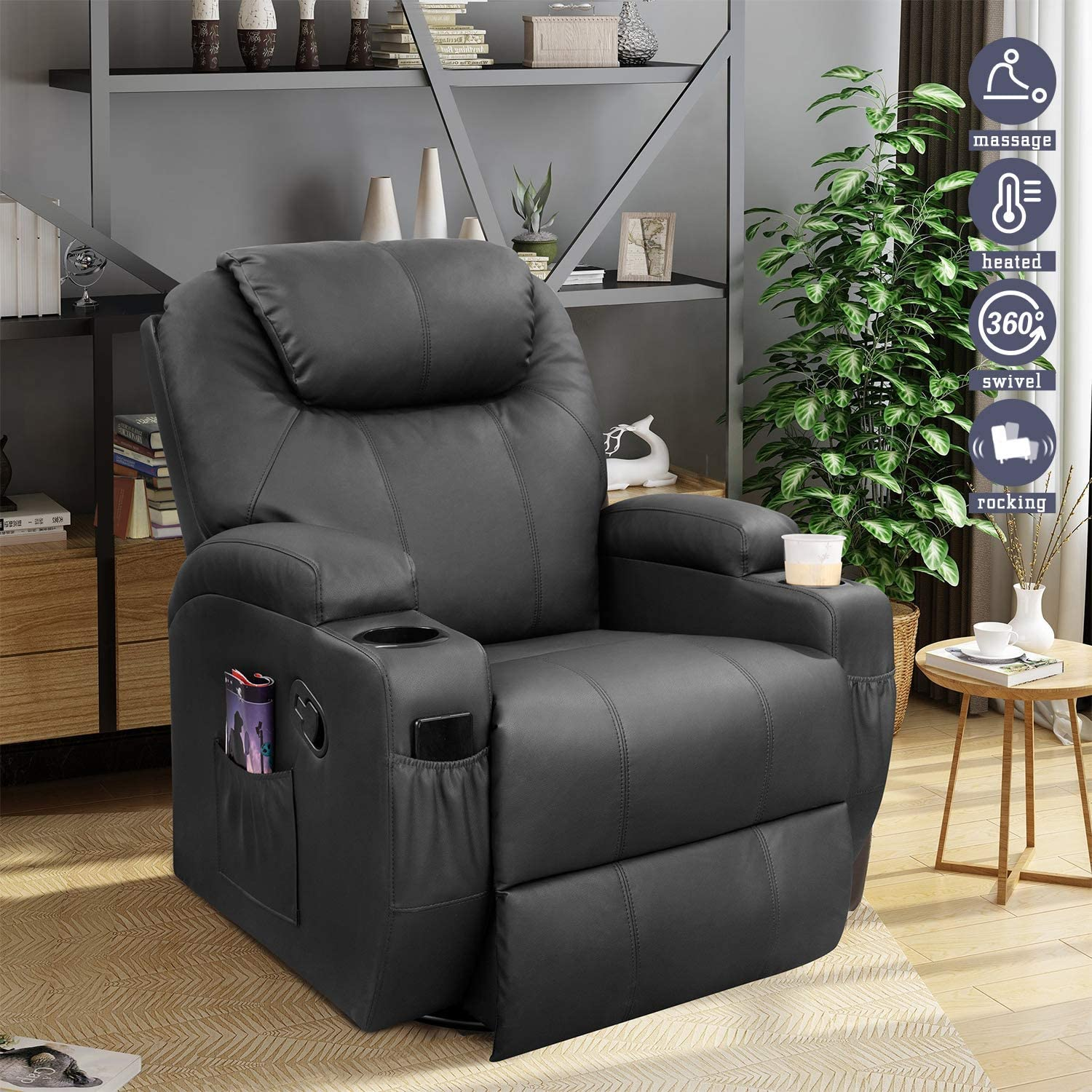 Furniwell Recliner Oversized Chair